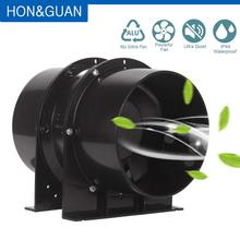 Вытяжной вентилятор из нержавеющей стали с встроенным воздуховодом, 220 В, вентилятор для углеродного фильтра, тент для выращивания, экстрактор воздуха, вентиляционная система для ванной