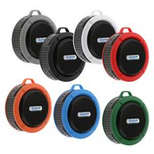 Portable Bluetooth Speaker, Waterproof Outdoor Shower Audio Speakers with HD Stereo, for Sport, Hiking, Camping, Beach, Pool