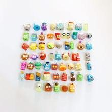 Aleatório 20/30/50 pçs/lote lixo o grossery gang 1 & 2 & 3 temporada dos desenhos animados anime ação cabeça macia caneta brinquedos figuras modelo crianças presente