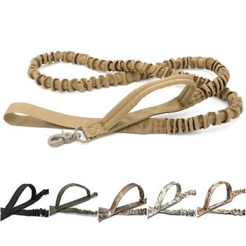 Bungee Dog Leash 2 Handle Cat Dog Pet Leash Elastic Leads Rope 3