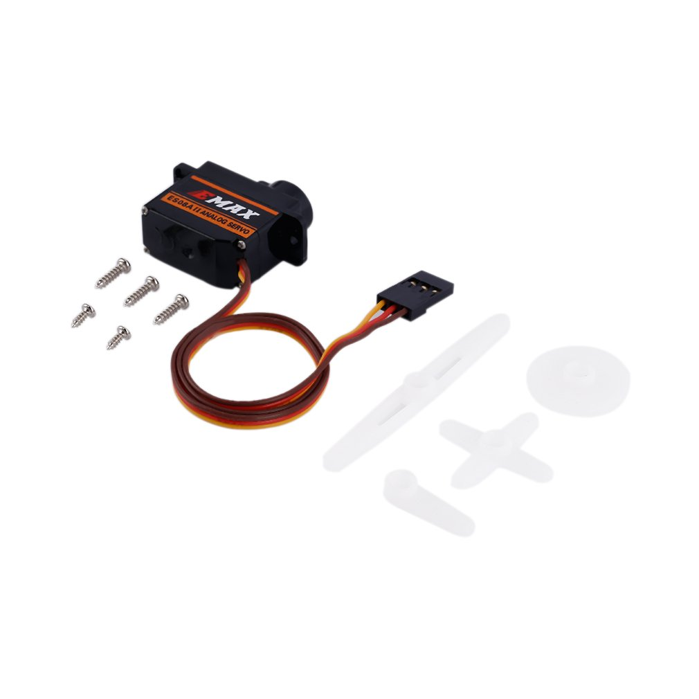 Stable Performance EMax ES08A II 9Gram Mini Portable Micro High Sensitive Servo For 3D RC Planes Helicopters