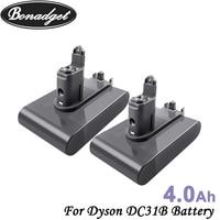 Bonadget-Batería de repuesto de 22,2 V, 4000mAh, Li-ion, DC31, tipo B, para Dyson DC31, DC31B, DC35, DC44, DC45, herramienta eléctrica de mano
