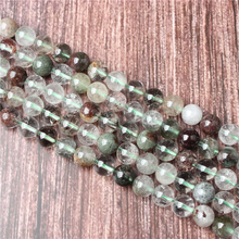 Hot Sale Natural Stone Green Ghost  Beads 15.5 Pick Size: 4 6 8 10 mm fit Diy Charms Beads Jewelry Making Accessories