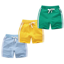 Kids Summer Shorts Trousers Wholesale Beach-Clothes Loose Baby-Boys-Girls Cotton Age