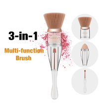 Three-in-one Cosmetic Brush Multi-functional One-in-one Brush Outline Brush Plus Plaster Puff And Li