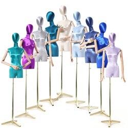 Mode femme poupée meubles couturière mannequin multicolore couverture brillante avec joints mobiles