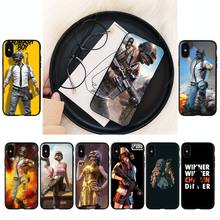 YNDFCNB pubg Phone Case For iPhone 8 7 6 6S Plus 5 5S SE 2020 12pro max XR X XS MAX 11