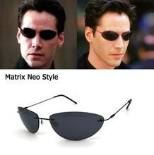Atualizar legal matrix smith estilo polarizado óculos de sol ultraleve sem aro homem condução design polaroid óculos de sol