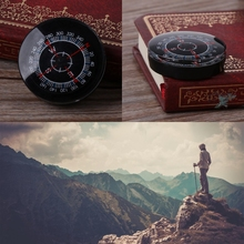 portable mini camping hiking navigation portable handheld compass survival practical guider New Portable Mini Oiling Survival Button Compass Hiking Camping Practical Guider A6HC suit for camping