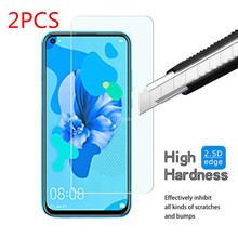 2PCS Screen Protector for Huawei P20 Lite 2019 HD Clear Protectors 9H Hardness Tempered Glass Film for Huawei P20 Lite hat prince hd clear full screen film for huawei p20 lite