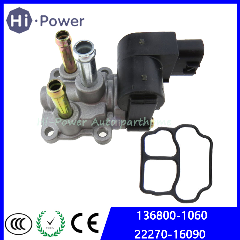 OEM 136800-1060 22270-16090 Idle Air Control Valve For Toyota Corolla Idle Speed Motor 2227016090 1368001060