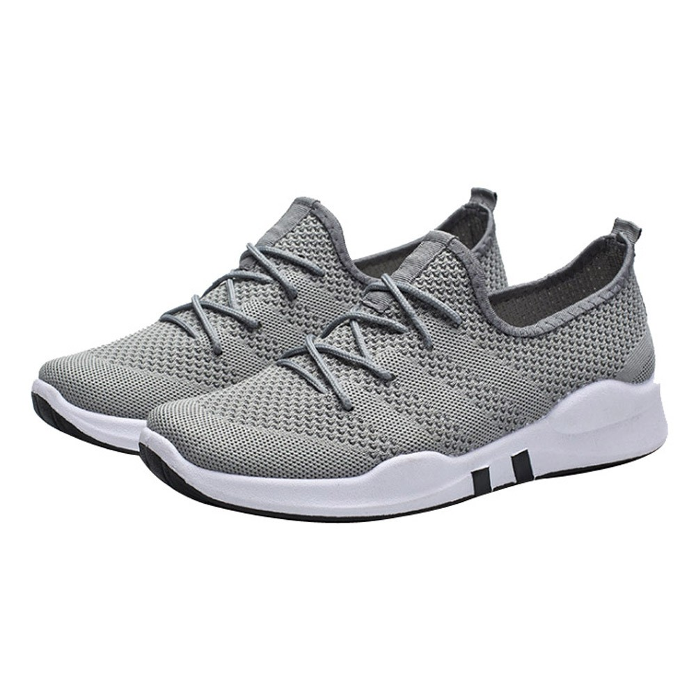 Men's Casual Sports Shallow Mouth Low-Top Breathable Running Shoe sport shoes men 2018 casual shoes men sneakers men 2019