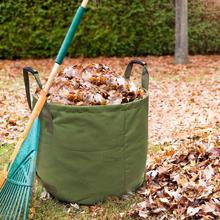 Большой емкости Сверхмощный Мешок для садовых отходов прочный многоразовый водонепроницаемый PP двор лист сорняков трава контейнер для хранения