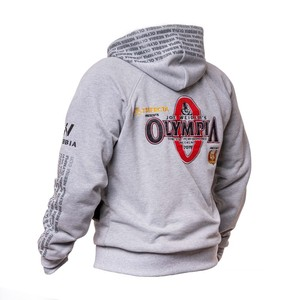 Image 3 - 2019 New OLYMPIA Men Gyms Hoodies Gyms Fitness Bodybuilding Sweatshirt Pullover Sportswear Male Workout Hooded Jacket Clothing