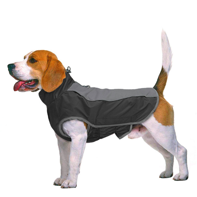 Pet Jacket Dog Clothes Coat Reflective Waterproof Jacket   4