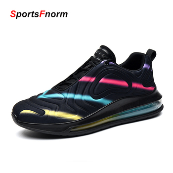 2020 Mens Casual Shoes Brand Male Sneakers Fashion Air Cushion Breathable Sports Running Shoes Zapatillas Hombre 720 Men Shoes li ning men s cushion running shoes breathable textile sneakers support tpu lining sports shoes arhm057 xyp478