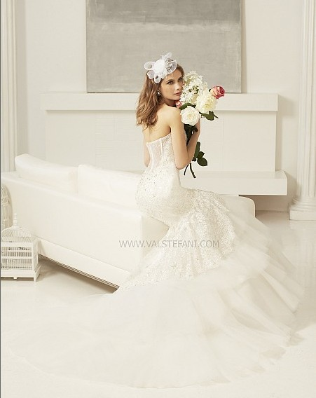Free Shipping New Fashion 2018 Lace Mermaid Sweetheart Backless Beaded Crystal Elegant Bridal Gown Mother Of The Bride Dresses