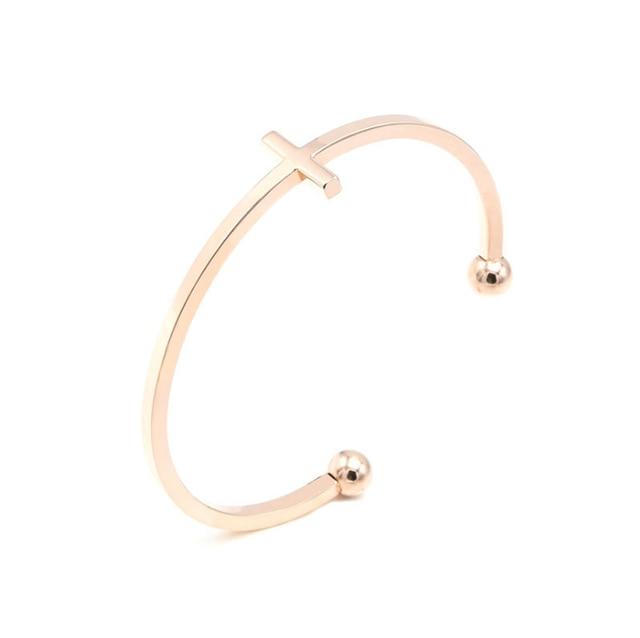 Fashion Cross Bangle Bracelets  1