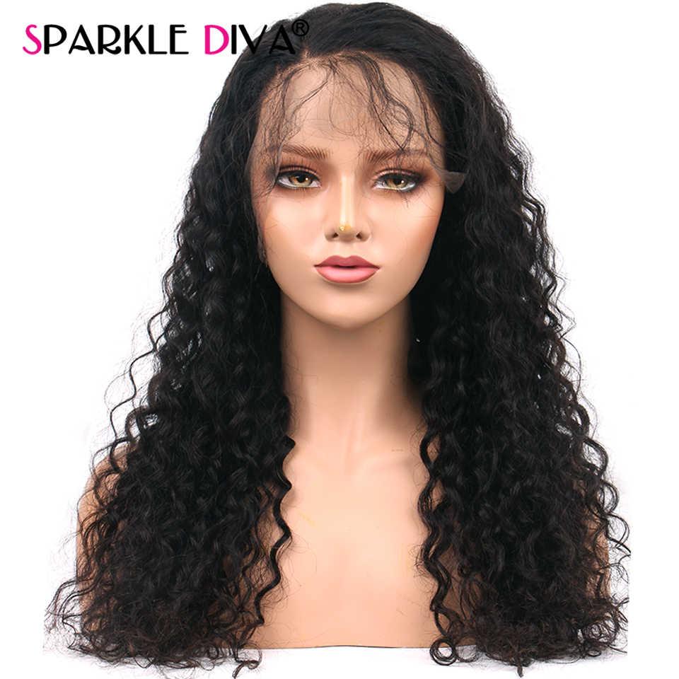 13X4 Sâu Sóng Ren Mặt Trước Con Người Tóc Giả Trước Nhổ Brasil Ren Mặt Trước Tóc Giả 150% Mật Độ Tóc Của Con Người tóc Giả Dành Cho Nữ Remy Tóc