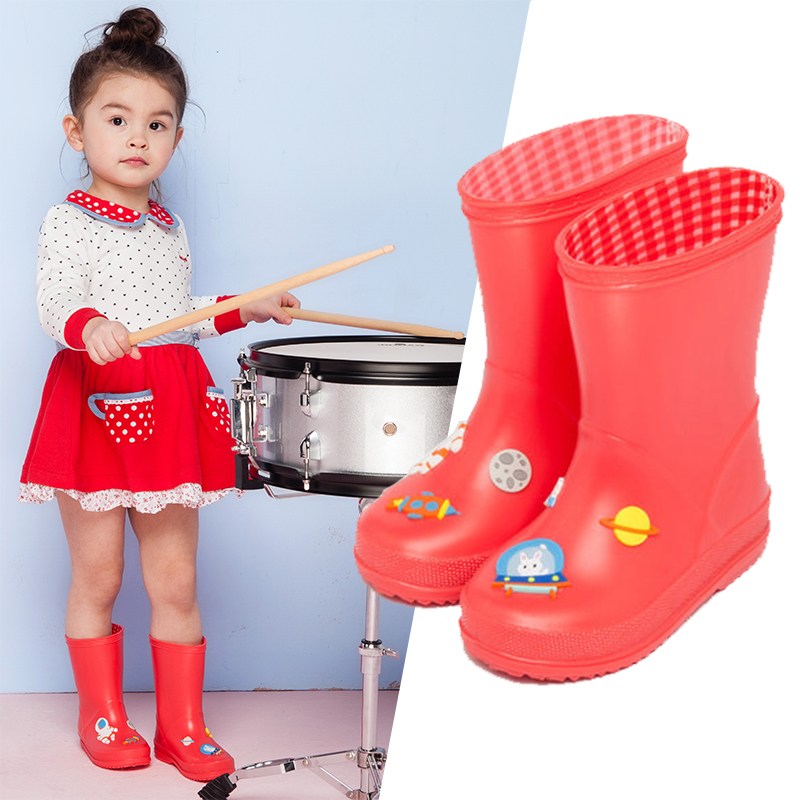 Kids Shoes Toddler Rain Boots Children Shoes Children Boots Spaceship Kids Shoes For Girl Kids Shoes For Boy Astronaut