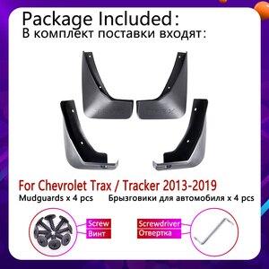 Image 2 - Mudflap für Chevrolet Trax Tracker 2013 ~ 2019 Fender Schlamm Schutz Klappe Splash Flaps Kotflügel Zubehör 2014 2015 2016 2017 2018
