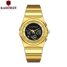 KADEMAN 2020 New Watches Men Luxury Brand Chronograph Men Sports Watches Waterpr