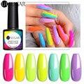 UR SUGAR 6/9 шт неоновый Цветной Гель-лак для ногтей набор флуоресцентных неоновых гель для салона ногтей замочить от УФ светодиодный яркий цвет