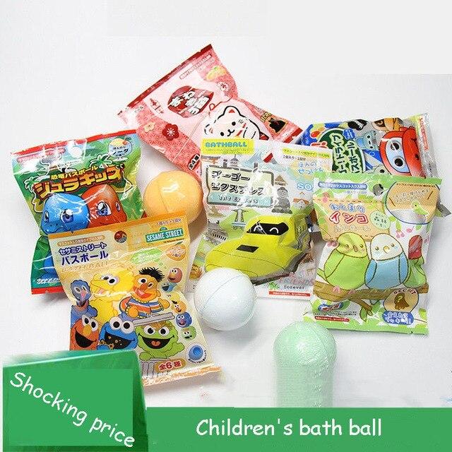 Japanese cartoon bath ball children bath ball toy bath agent bubble bath ball