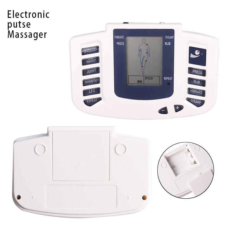 Tens электронная Акупунктура для всего тела, для похудения, импульсный массаж, стимулятор мышц, облегчение боли в мышцах, терапия, уход за здор...