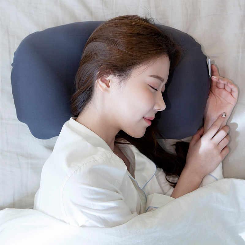 3D Hals Micro Airball Kussen Diepe Slaap Verslaving Head Rest Luchtkussen Overdrukventiel Kussens Gift Wasbare Kussensloop Covers