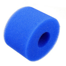 Reusable/Washable Foam Hot Tub Filter Cartridge Pure Spa Pool For Intex S1 Type(China)