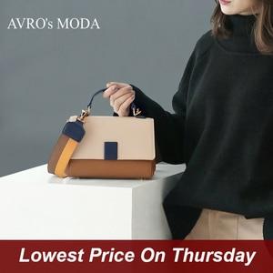 Image 1 - AVROs MODA handbag bags for women 2020 luxury handbags women bags designer crossbody bags for women genuine leather small bag