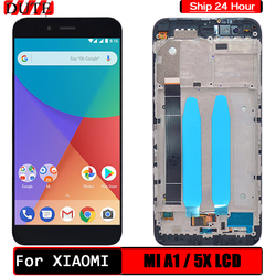 For Xiaomi Mi A1 Display Touch Screen Digitizer Assembly For Global Version Xiaomi Mi 5X A1 LCD With Frame For Mi5X Replacement