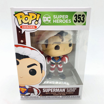 Funko Pop SUPER HEROES SUPERMAN #353 Vinyl Action Figure Dolls Toys 2