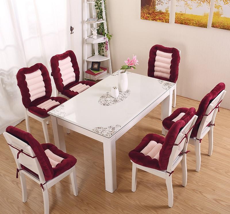 Winter Warm Dining Room Chair Back Seat Cushion Automobile Plush Sofa Office Chair Seat Cushion Garden Chair Cushion Cushion Aliexpress