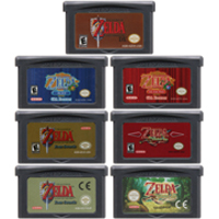 Video Game Cartridge Console Card 32 Bits The Legend of Zeldaa Series For Nintendo GBA