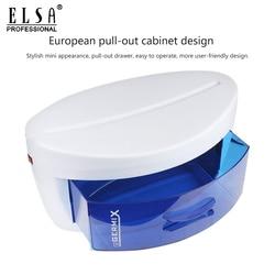 Esterilizador para uñas arte luz ultravioleta caja de esterilizador de uñas herramientas de desinfección UV gabinete de Arte de uñas caja de esterilizador