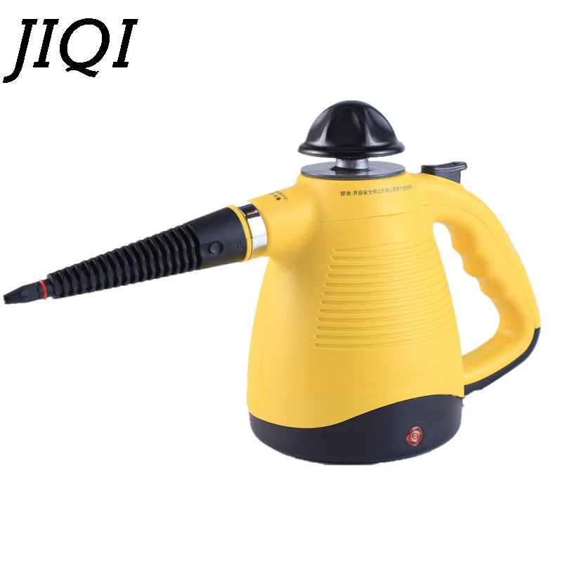 JIQI 350mL 900W Steam Cleaner Handheld Cleaning Machine Disinfector Sterilization Machine Aromatherapy Glass Mites Cleaning