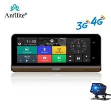 "Anfilite E31 Pro 4G автомобильная камера gps 7,"" Android 5,1 автомобильные видеорегистраторы gps навигация видеорегистратор парковки мониторинг грузовика gps навигатор"