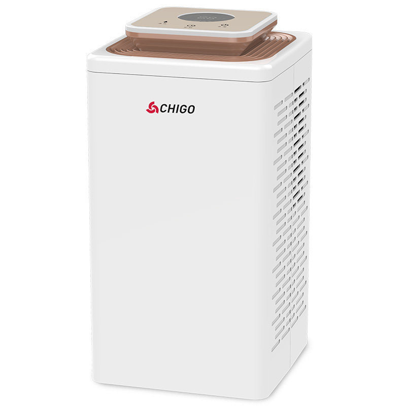 2.7L Low Noise Dehumidifier Home Bedroom Mini Dehumidifying Dryer Basement Dry Clothes ZGC1606 image