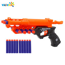 Kids Toy Gun for NERF Soft Bullet Gun Rival Elite Series Outdoor Fun & Sports Toy Gift for Kids Boys + 10 EVA Bullets(China)