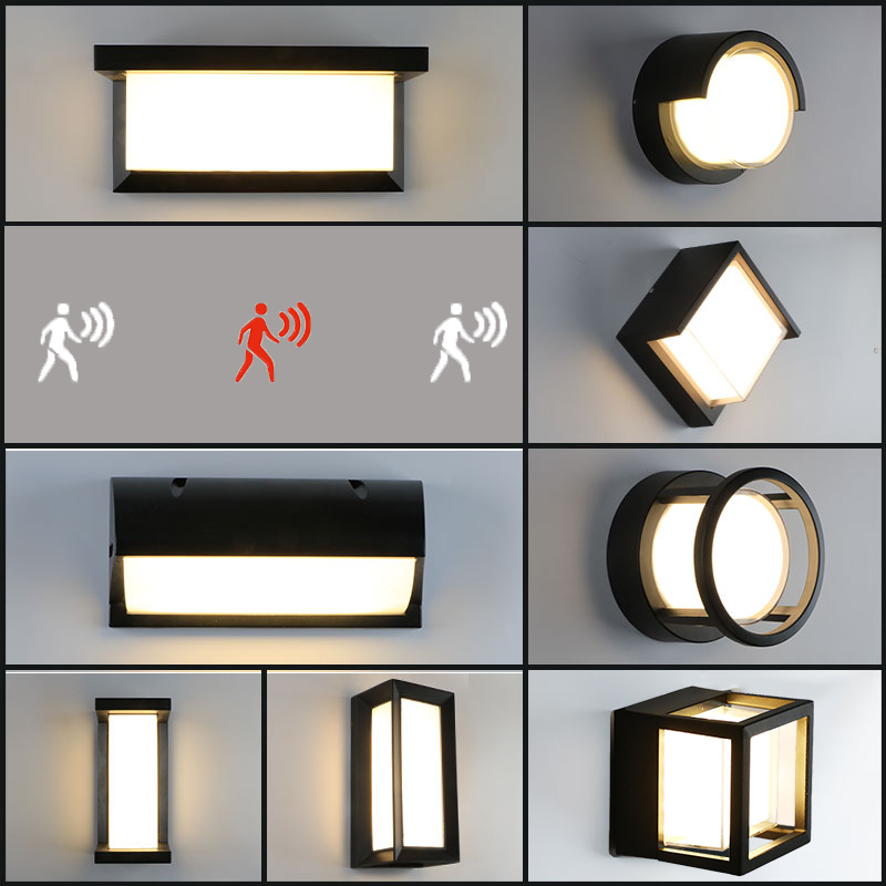 LED Outdoor Waterproof Walkway Front Door Garden Porch Wall Light Modern Indoor Corridor Wall Lighting Light Fixture ZBW0001