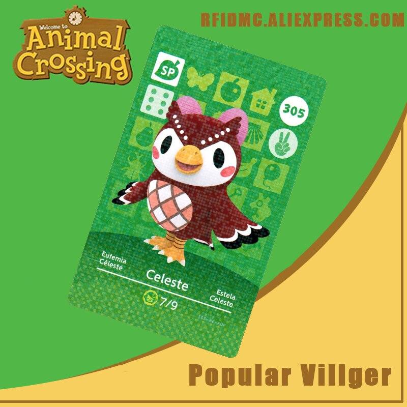 305 Celeste Animal Crossing Card Amiibo For New Horizons