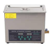 free shipping 110V/220V Dual frequency 40KHz/28KHZ 180W JPS-30AD Digital heater&timer Ultrasonic Cleaner 6L