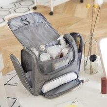 Bolsa para cosméticos, maquiagem à prova d'água para homens, bolsa de viagem para organizar cosméticos, itens de higiene pessoal saco do saco