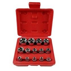 14 sztuk zestaw narzędzi rękawem sześciokątne gniazdo śliwkowe klucz grzechotkowy akcesoria zestaw narzędzi do naprawy samochodu narzędzia do naprawy domu w Zestawy narzędzi ręcznych od Narzędzia na