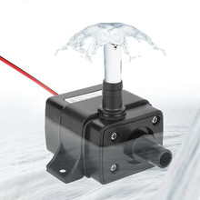 Submersible Water-Pump Mini 12V DC Ultra-Quiet 240l/h-Flow-Rate Brand-New