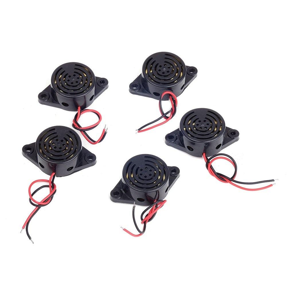 SFM-27 Electronic Buzzer Beep Alarm High-decibel 3-24V 12V Alarm Intermittent Continuous Beep 95DB 12 V Buzzer Diy For Arduino