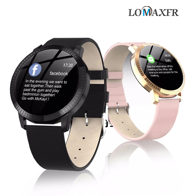 גברים SmartWatch נשים שעון חכם אנדרואיד קצב לב לחץ דם ip68 עמיד למים gps sim גשש כושר wristbands צמיד