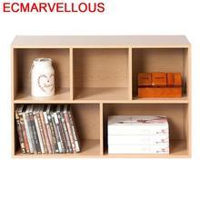 Armoire mobile Mueble De Cocina Estanteria Libro enfants Estante Para Livro Wodden rétro livre décoration meubles étagère caisse